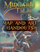 Midgard Tales Map & Art Folio (Pathfinder RPG)
