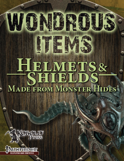 Wondrous Items 2: Helmets & Shields from Monster Hides ... - photo#7