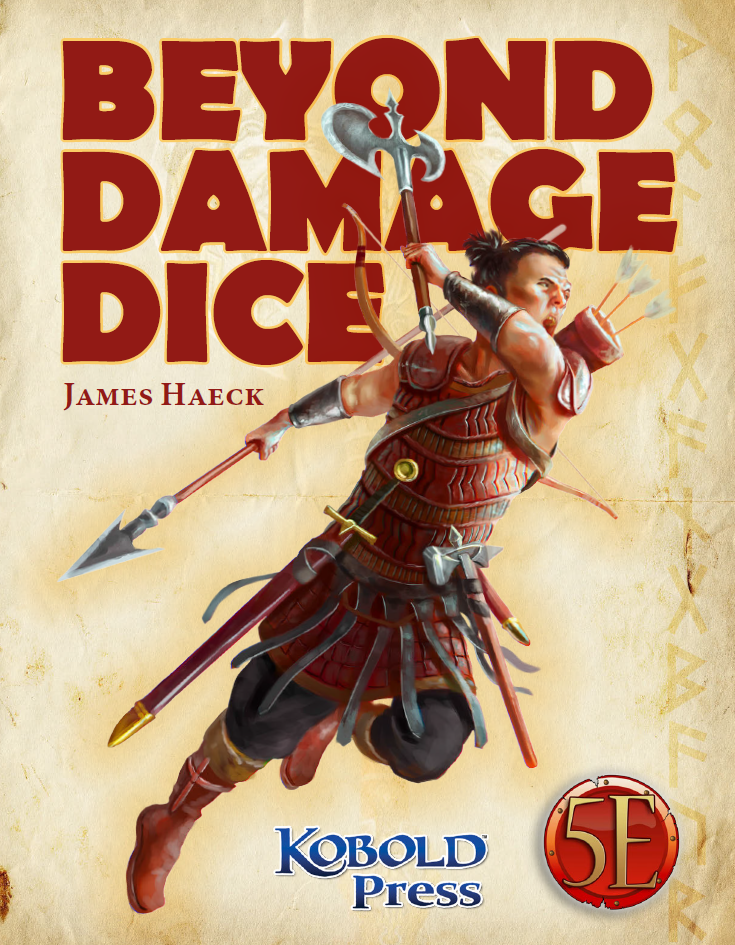 Beyond Damage Dice: New Weapon Options for 5th Edition