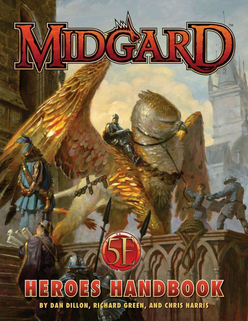 Midgard Heroes Handbook for 5th Edition - Kobold Press