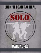 Lock 'n Load Tactical Solo v1.5 Manual & Player Aid Cards
