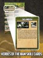 Heroes of the Nam Skill Cards