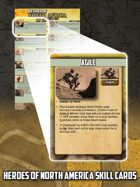Heroes of the North Africa Skill Cards