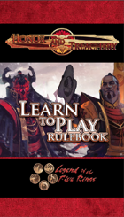 Honor and Treachery Learn to Play Rulebook