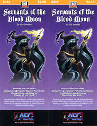 Cover of Servants of the Blood Moon