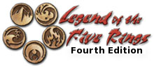 Legend of the Five Rings 4th Edition