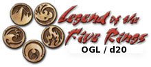 Legend of the Five Rings OGL / d20