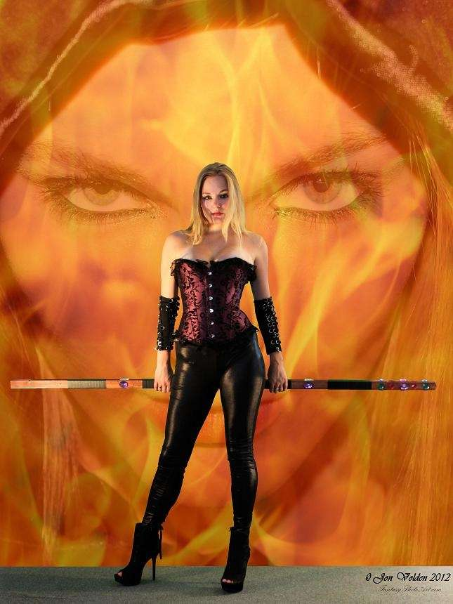 PFV: Fire Witch (Poster Sized Jpeg)