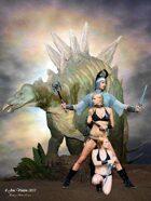 PFV: Dinosaur Hunters (Poster Size Jpg)
