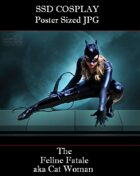 CosPlay: The Feline Fatale (Poster Sized Jpg)