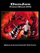 DunJon Poster JPG #9 (Gladiator vs Dragon)