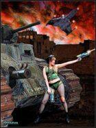 DunJon Poster JPG#12 (Tank Gal vs.The  Mega Corp.)