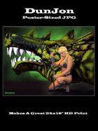 DunJon Poster JPG#13 (Dragon's Bane)