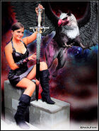 DunJon Poster JPG #62 (Xena And The Griffin)
