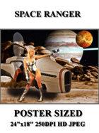 DunJon Poster JPG #145 (Space Ranger)