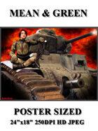 DunJon Poster JPG #150 (Mean & Green)