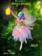 2018 Dz Fairy Calendar