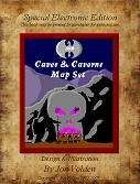 20 Caves & Caverns Map Set