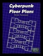 Cyberpunk Floorplans: Run Down Tenement