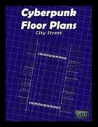 Cyberpunk Floorplans: City Street