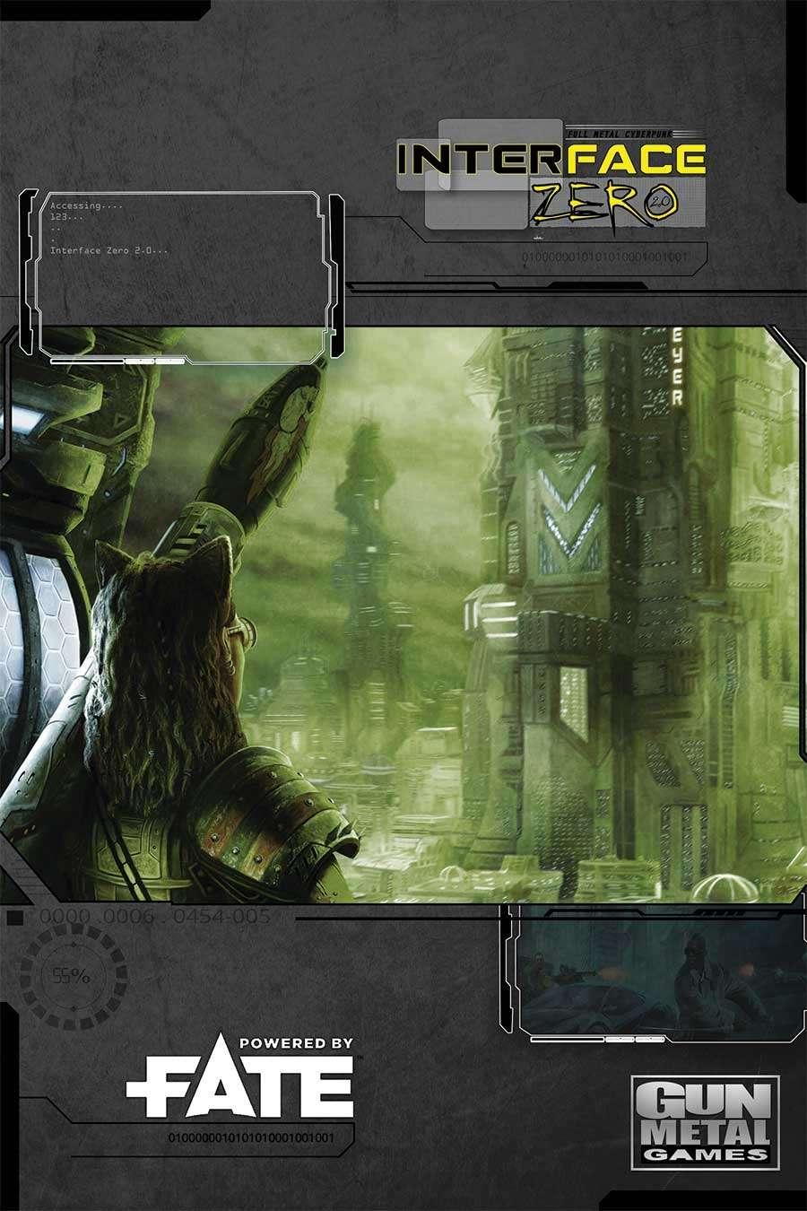 Fate Edition: Interface Zero 2.0 -  Gun Metal Games