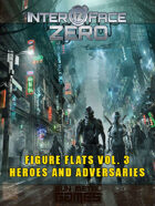 Figure Flats Volume 3: Heroes and Adversaries