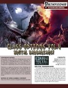 Class Options Volume 4: Brutal Barbarians