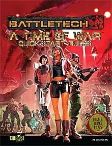 BattleTech: A Time of War: Quick-Start Rules (Free RPG Day 2012)