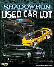 Shadowrun Used Car Lot Catalyst Game Labs Shadowrun