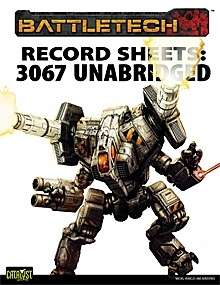 BattleTech: Record Sheets: 3067 Unabridged