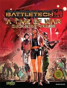 BattleTech: A Time of War: Quick-Start Rules (Free RPG Day 2013)