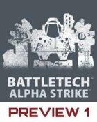 BattleTech: Alpha Strike Preview 1