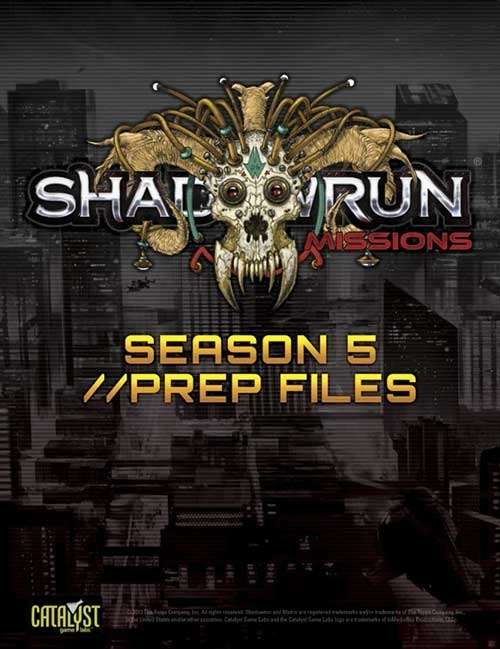 shadowrun 5e skillsoft