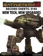 BattleTech: Record Sheets: 3145 New Tech, New Upgrades
