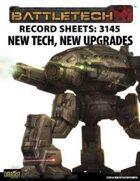 BattleTech: Record Sheets: 3145 New Tech, New Upgrades