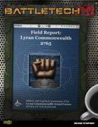 BattleTech: Field Report 2765: LCAF