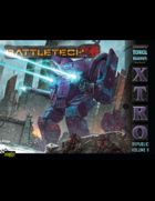 BattleTech: Experimental Technical Readout: Republic Volume II