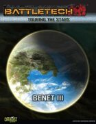 BattleTech Touring the Stars: Benet III