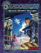 Shadowrun: Quick Start Rules: Third Edition