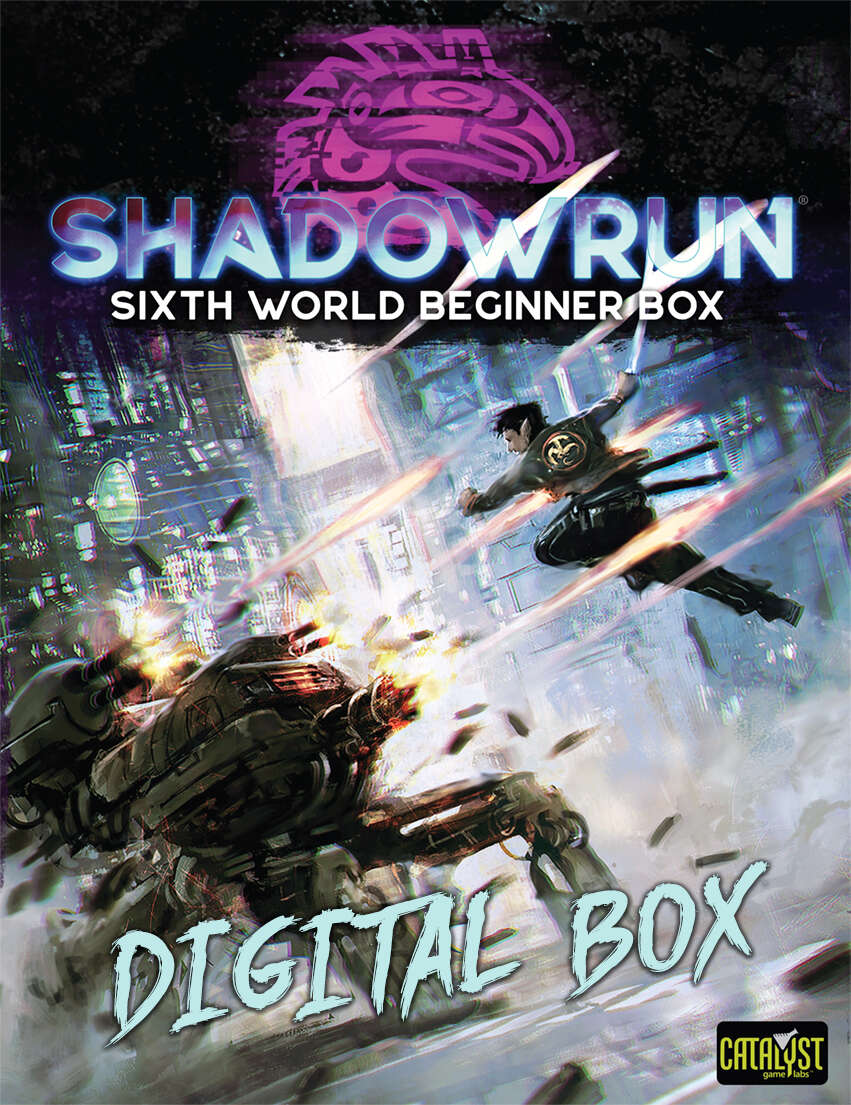 Shadowrun: Sixth World Beginner Box - Catalyst Game Labs | DriveThruRPG.com