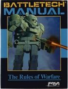 BattleTech: Manual: The Rules of Warfare