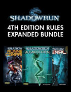 Shadowrun: 4th Ed. Rules Expansion [BUNDLE]