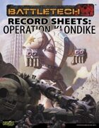 BattleTech: Record Sheets: Operation Klondike