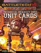 BattleTech: Quick-Strike Cards: Technical Readout 3050 Unit Cards