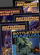 BattleTech: Vintage Rulebook Bundle