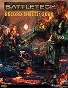 BattleTech: Record Sheets: 3060