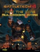 BattleTech: Core Rulebooks Primer