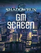 Shadowrun: Gamemaster Screen: SR4A
