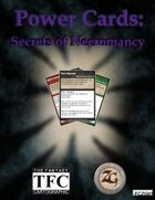 Power Cards: Secrets of Necromancy