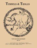 Tunnels & Trolls First Edition Reprint